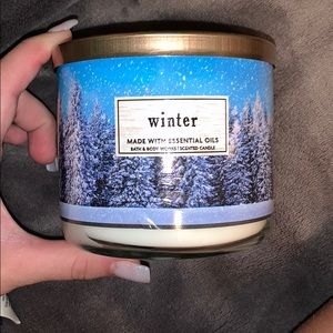 ❄️Bath & Body Works Winter Candle☃️